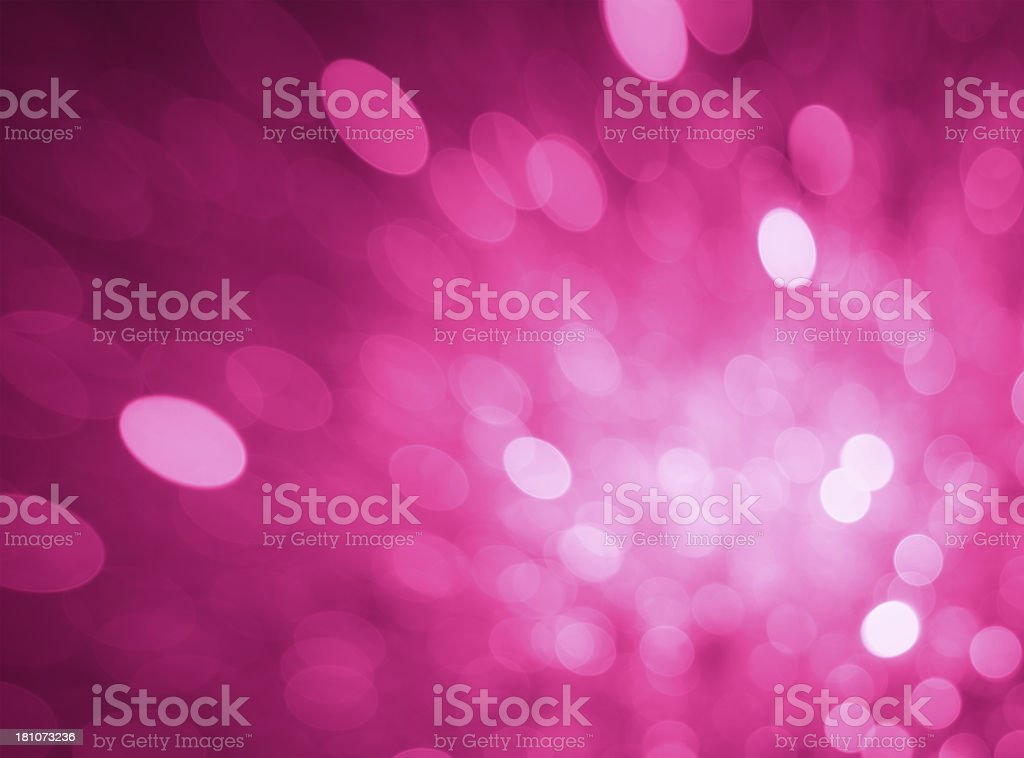 Defocused pink lights royalty-free stock photo