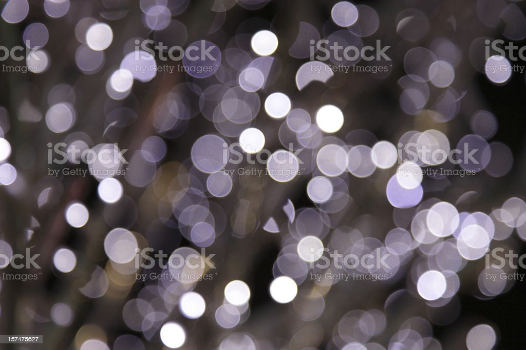 defocused purple light dots royalty-free stock photo