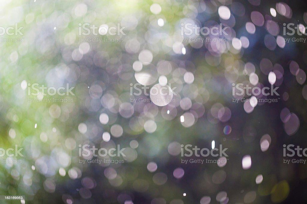 defocused rain drops royalty-free stock photo