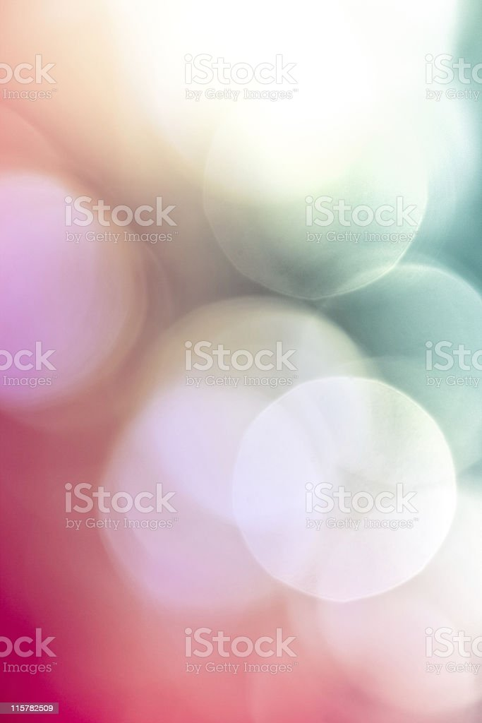Defocused red blue lights royalty-free stock photo