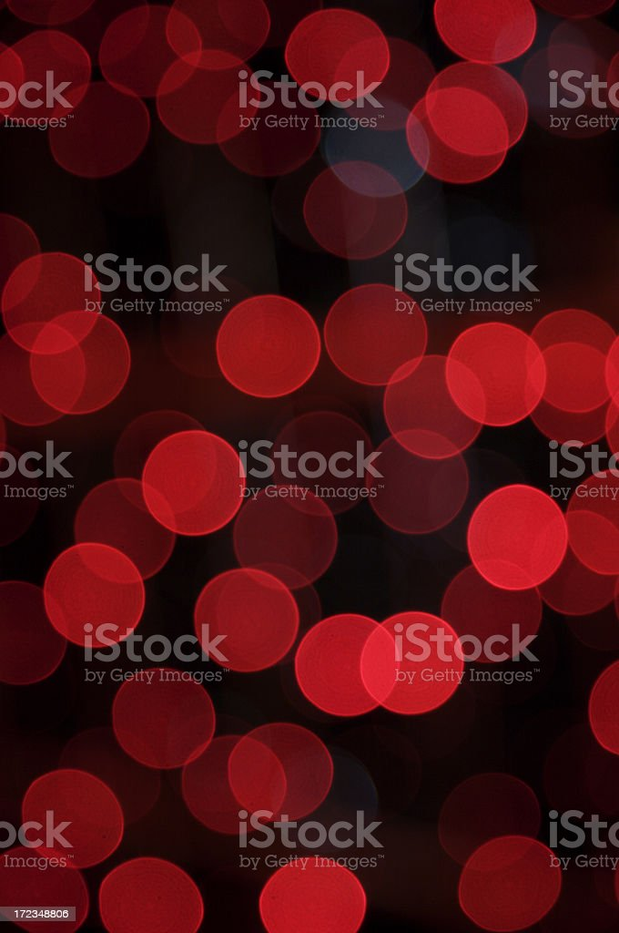 Defocused red lights royalty-free stock photo