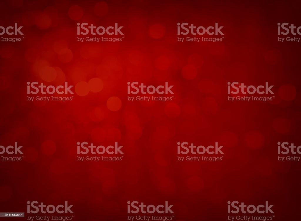 Defocused red lights stock photo