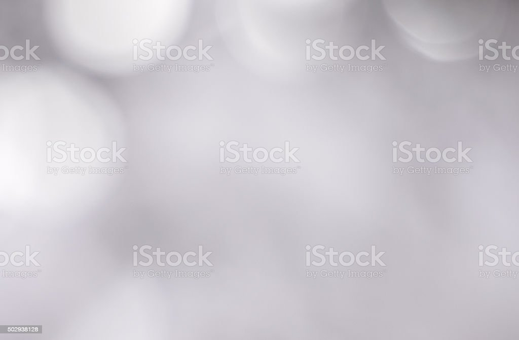 Defocused Silver Sparkles stock photo