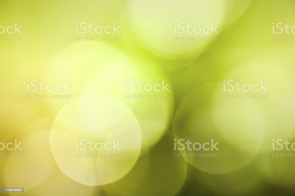Defocused spring lights royalty-free stock photo