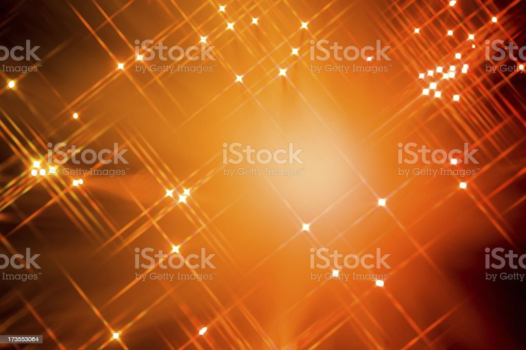 Defocused Star Light Background royalty-free stock photo
