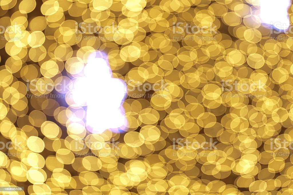 defocused stars and lightdots royalty-free stock photo