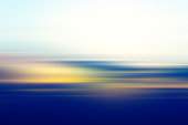 Defocused Sunset Sky Abstract Background