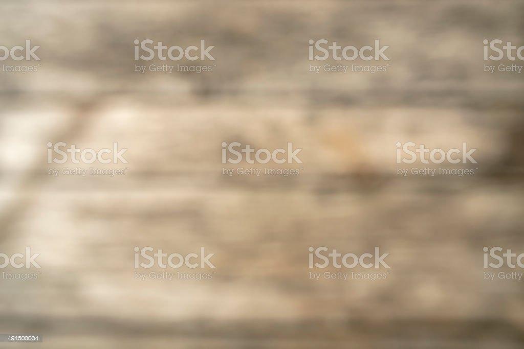 Defocused vintage or rustic wood background stock photo