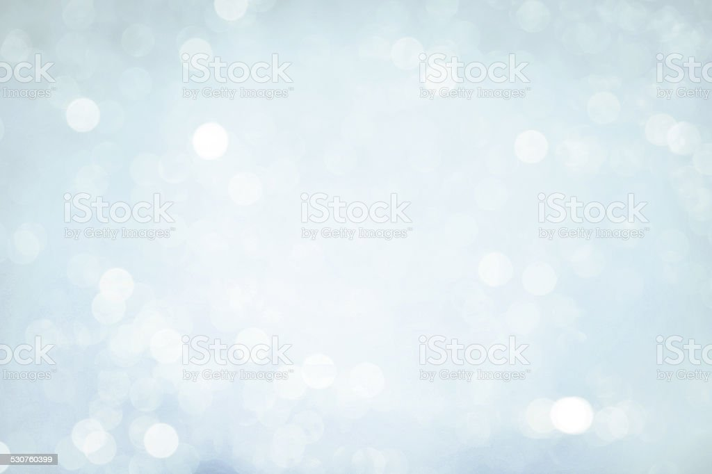 Defocused winter background stock photo