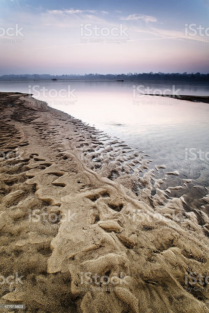 deformed sand royalty-free stock photo