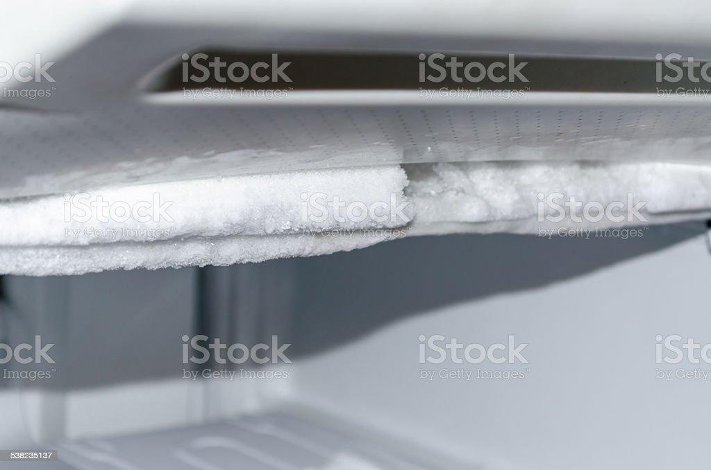 Defrost Freezer stock photo