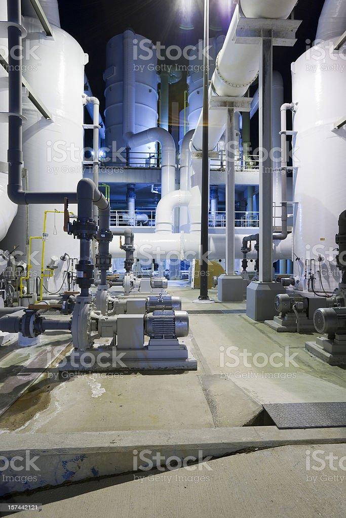 Degassification royalty-free stock photo