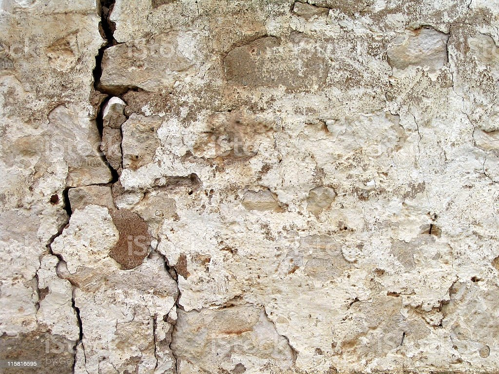 Degraded Wall I royalty-free stock photo