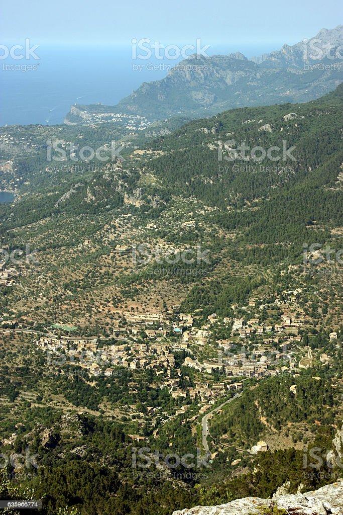 Deia, Mallorca, Spain stock photo