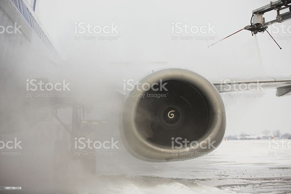 Deicing stock photo