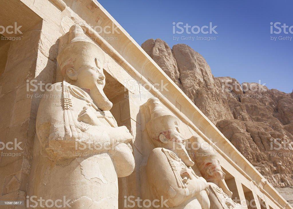 Deir el Bahari (Hatshepsut Temple) stock photo