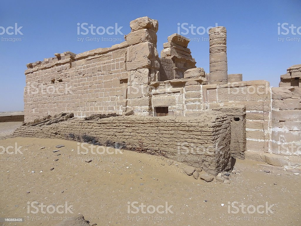 Deir el-Hagar royalty-free stock photo
