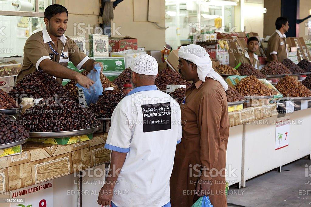 Deira market royalty-free stock photo