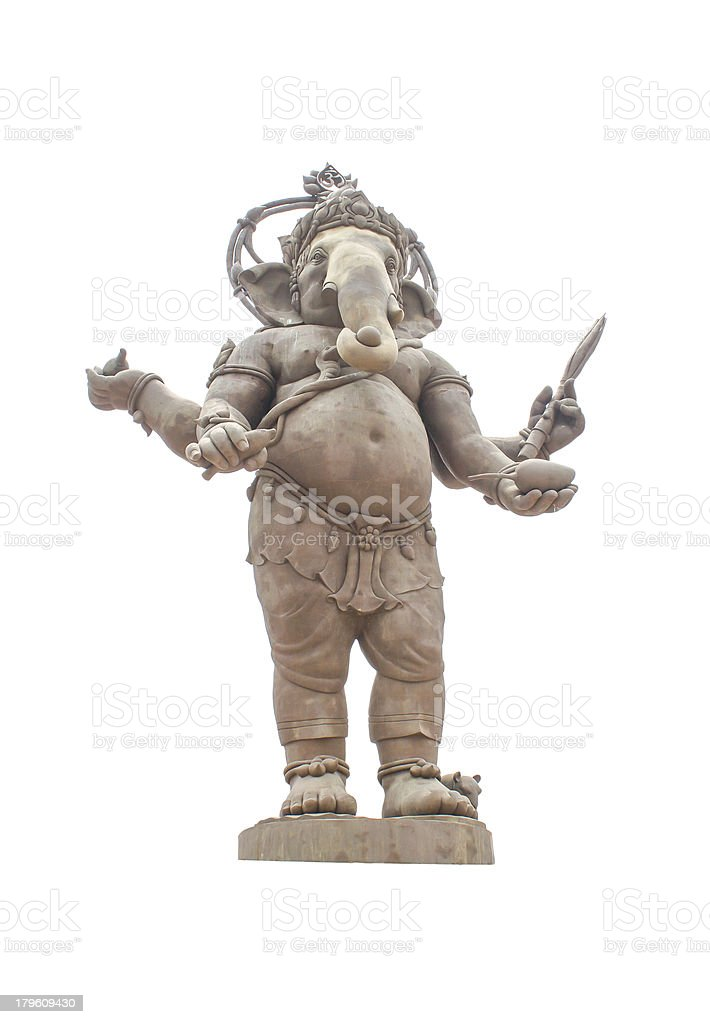 Deity of Ganesha royalty-free stock photo