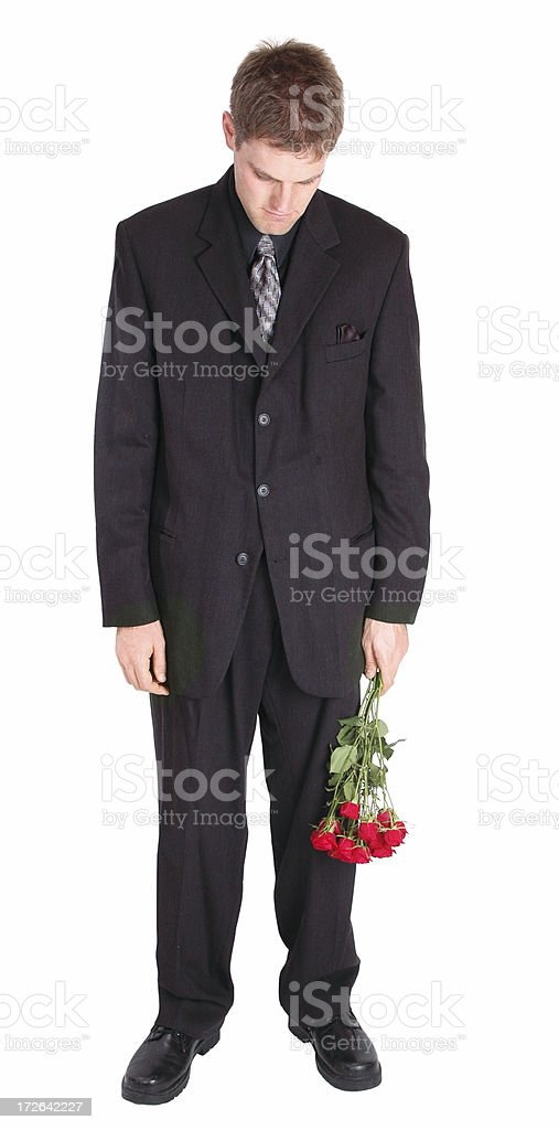 Dejected Suitor stock photo