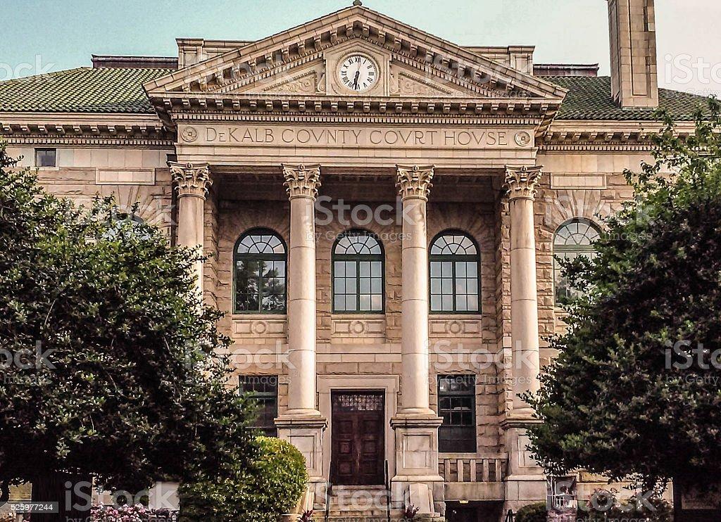 DeKalb County Courthouse stock photo
