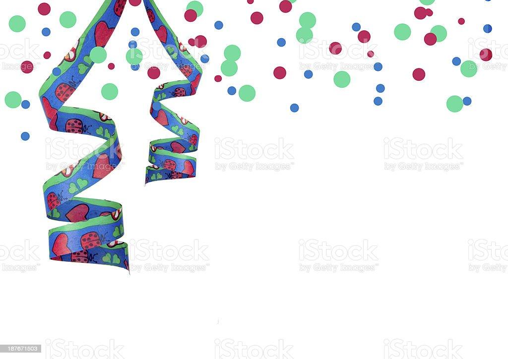Dekoration für Geburtstag royalty-free stock photo