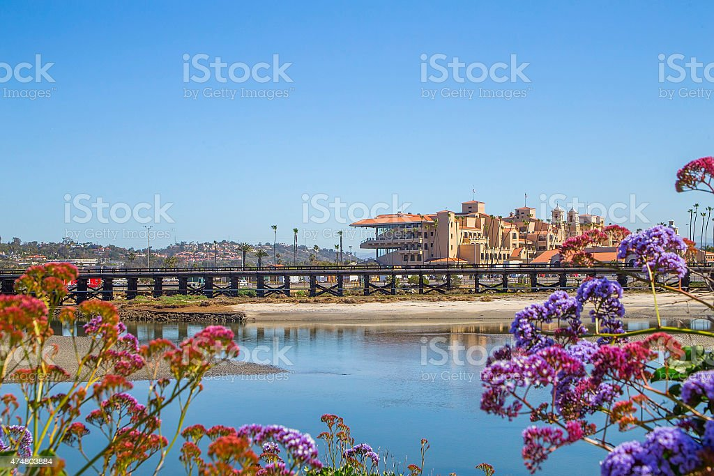 Del Mar Race Track San Diego stock photo