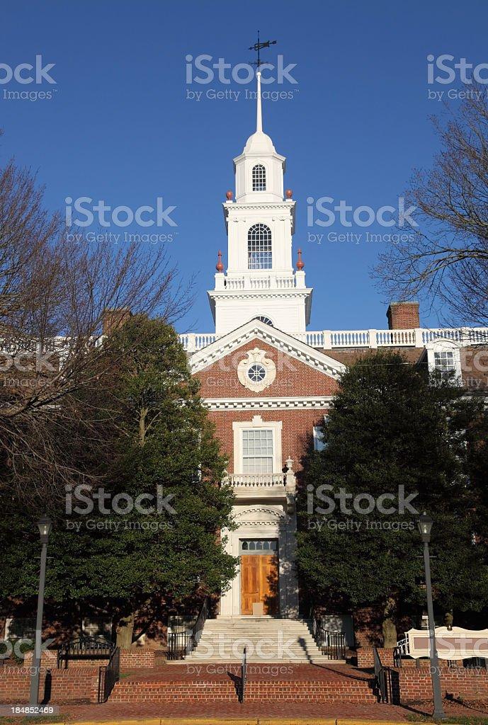 Delaware Capitol stock photo