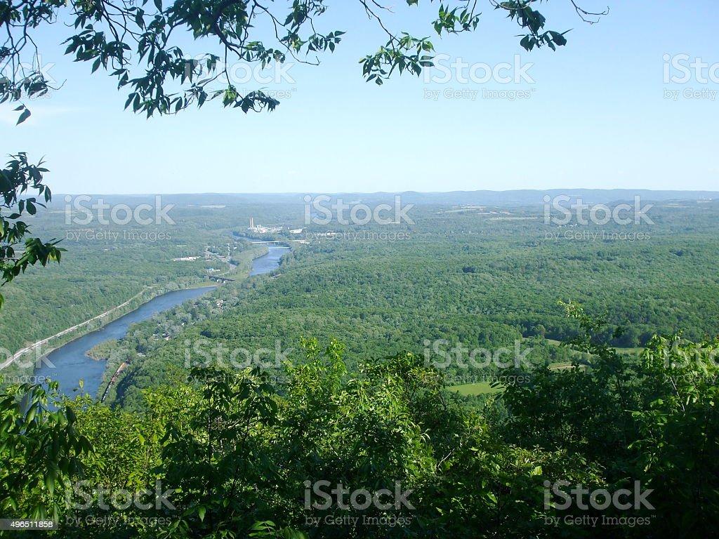 Delaware Water Gap 2 stock photo