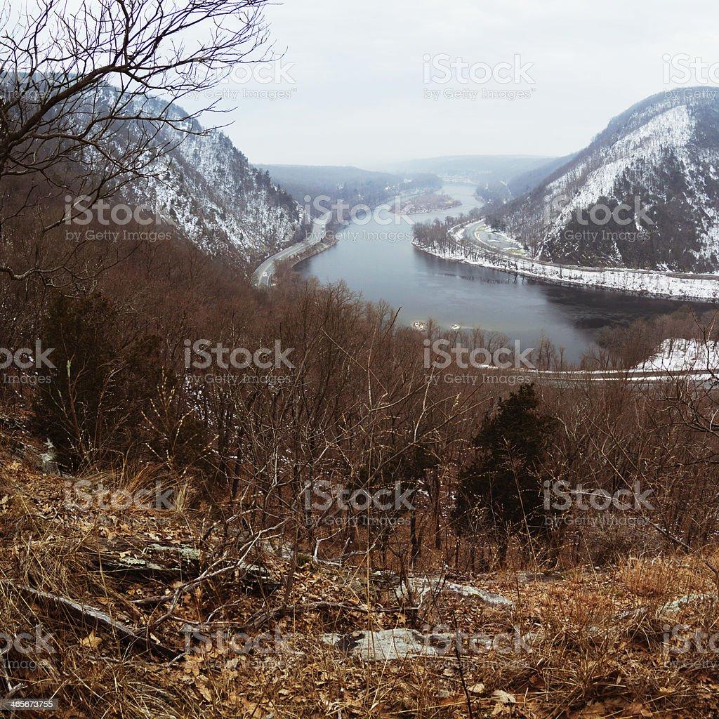 Delaware Water Gap, Pennsylvania, USA stock photo