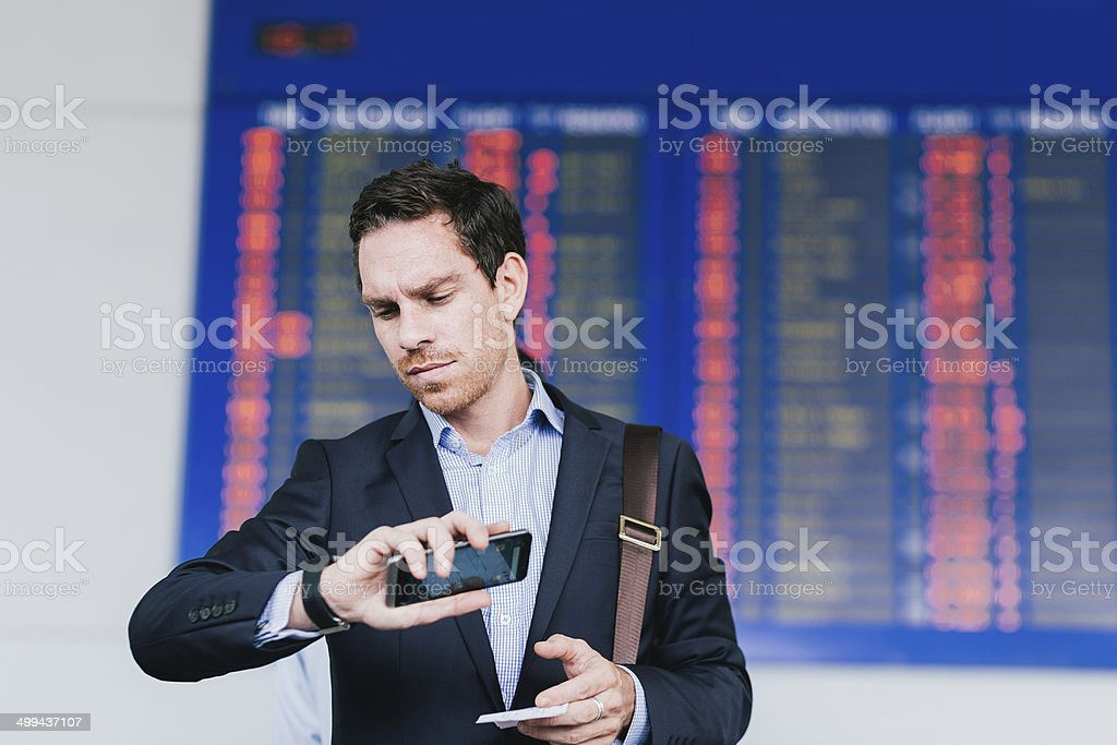 Delay stock photo