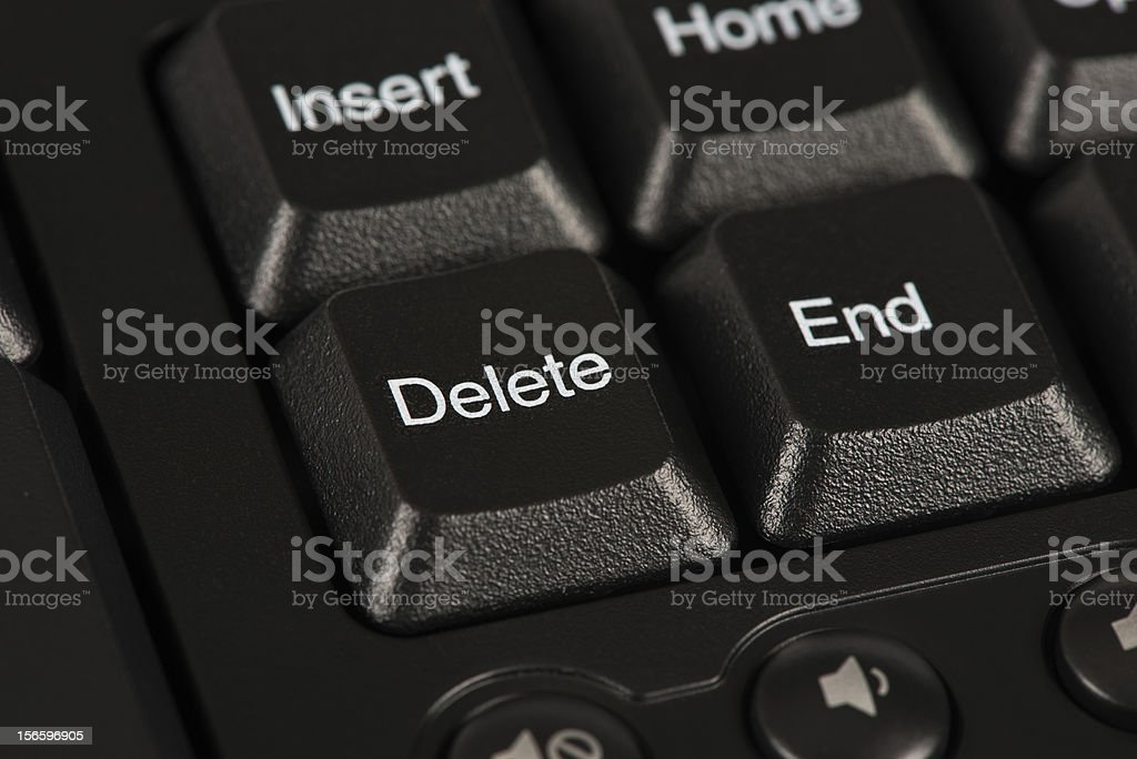 Delete and End Key stock photo