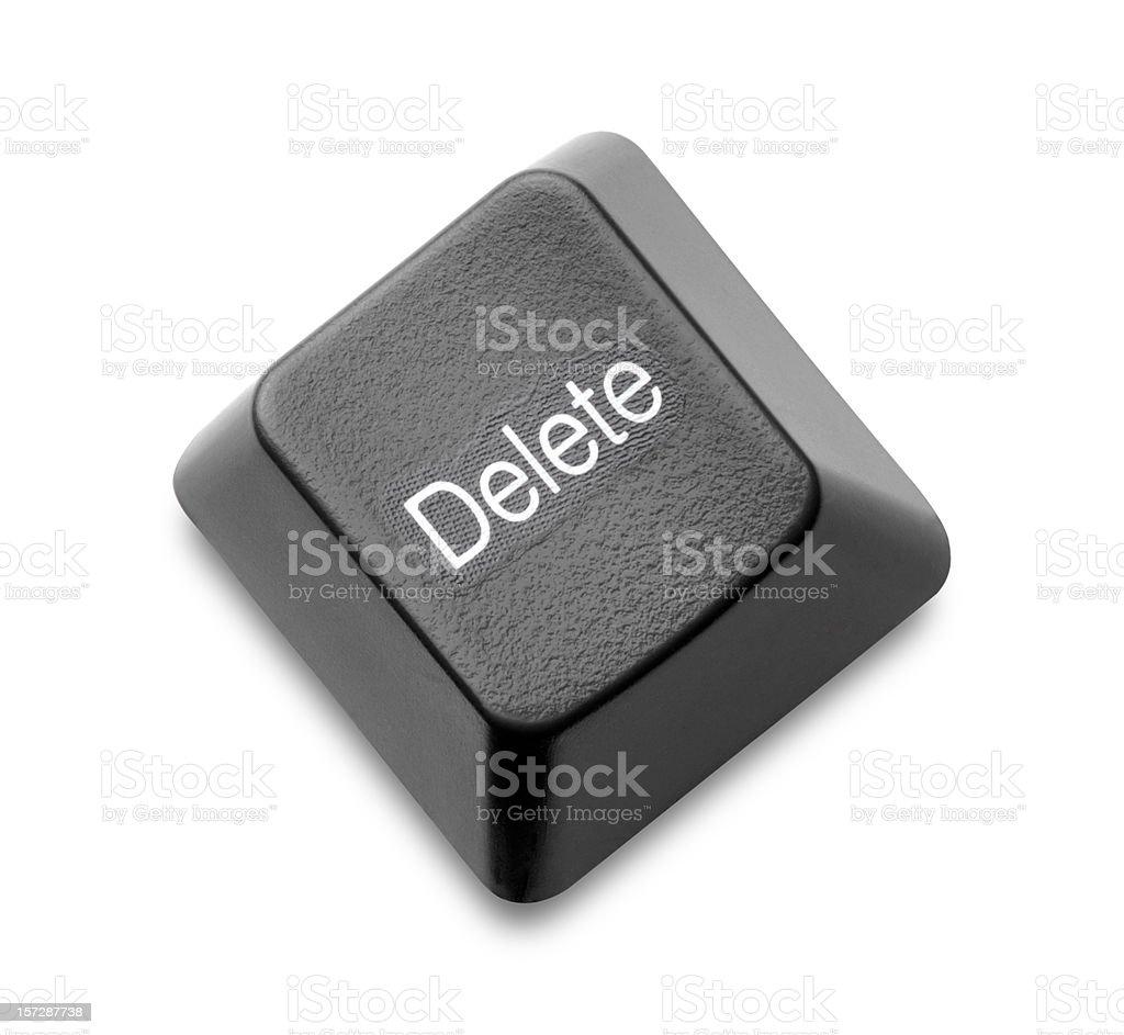 Delete Key royalty-free stock photo