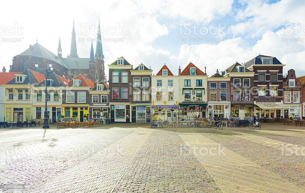 Delft, The Netherlands stock photo