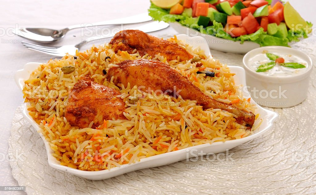 Delhi Biryani stock photo