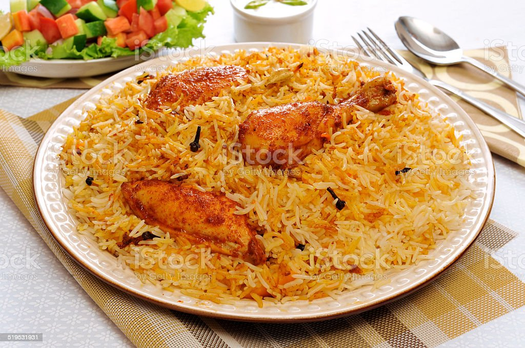 Delhi Biryani-1 stock photo