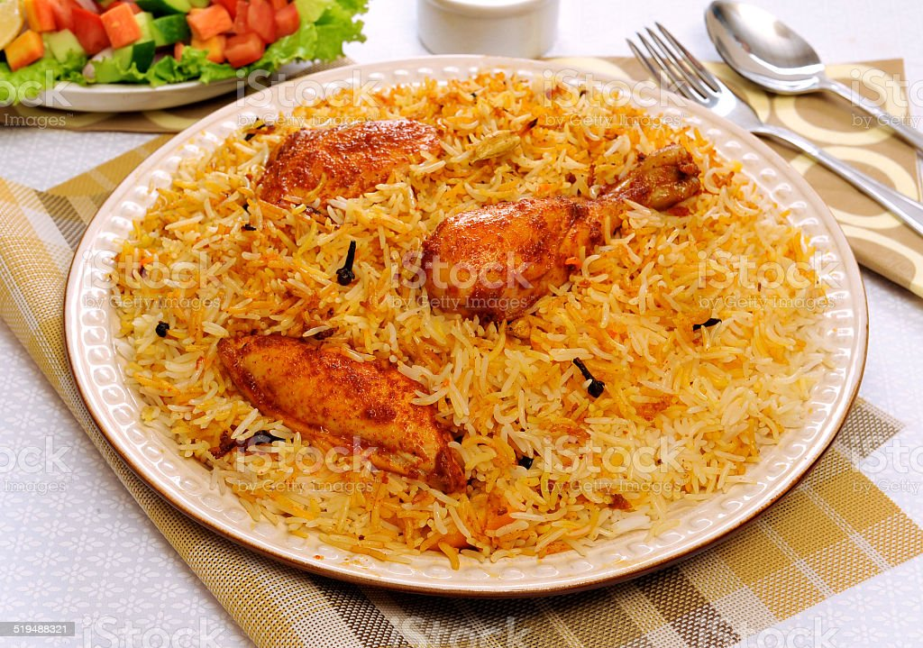 Delhi Biryani-2 stock photo