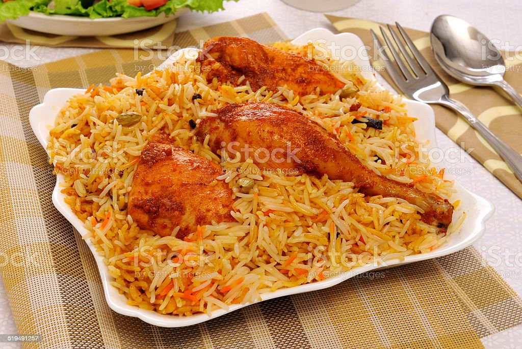 Delhi Biryani-6 stock photo