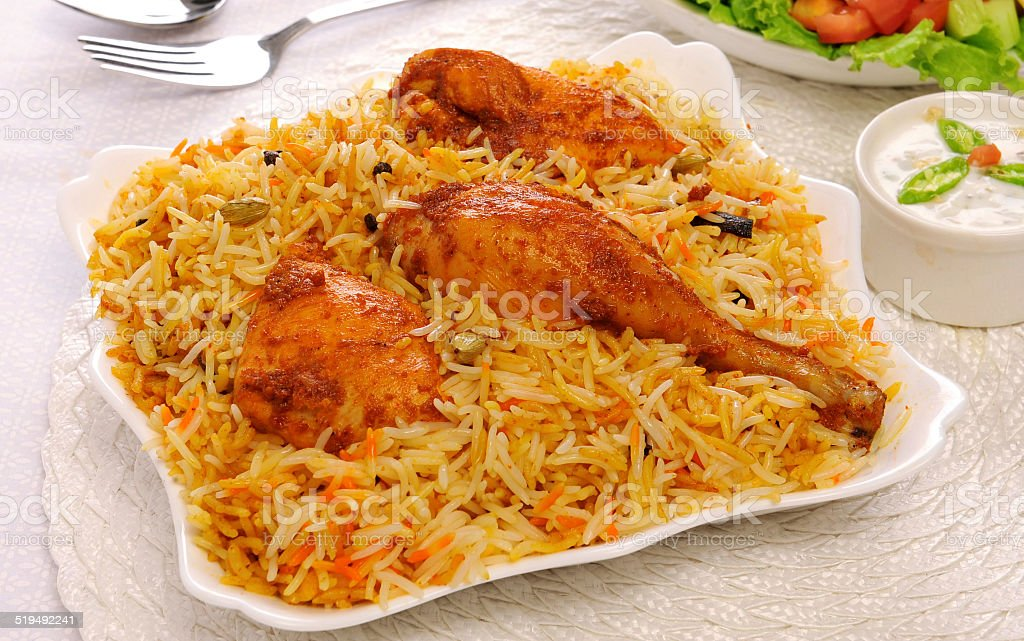 Delhi Biryani-7 stock photo