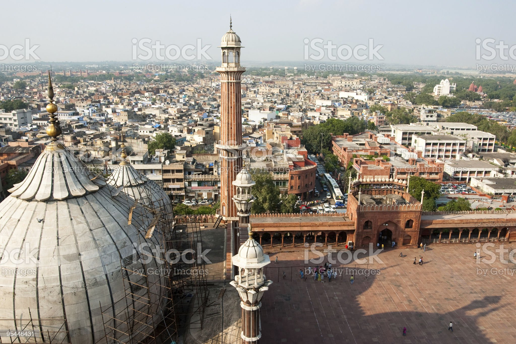 Delhi Jama Masjid royalty-free stock photo
