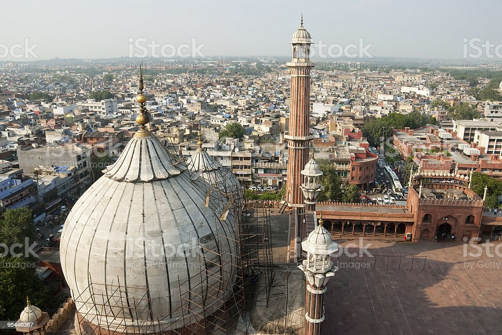 Delhi stock photo