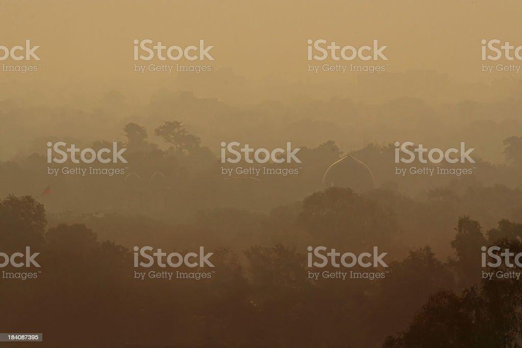 Delhi Sunrise royalty-free stock photo