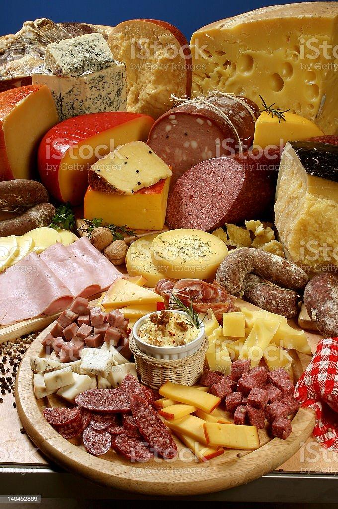Deli meat royalty-free stock photo