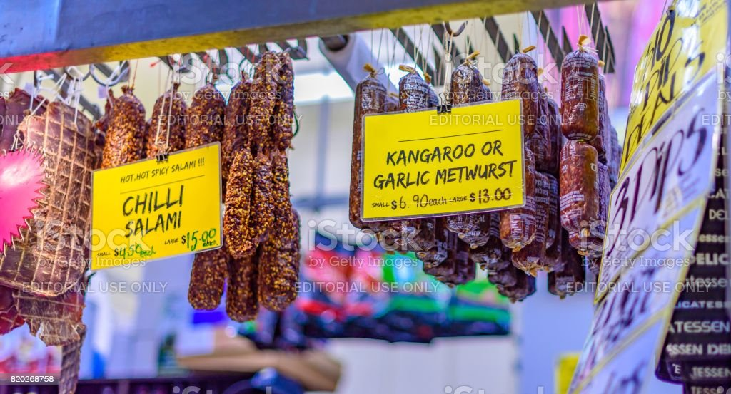 Deli Meats stock photo