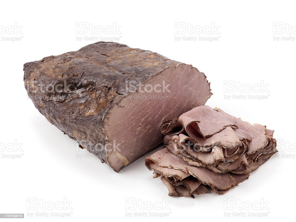 Deli, Roast Beef stock photo