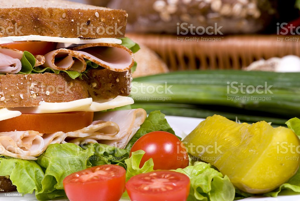 Deli Sandwich 006 royalty-free stock photo