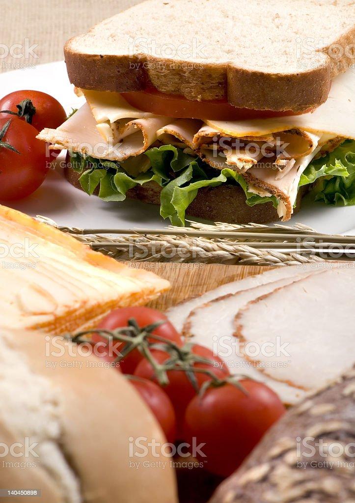 Deli Sandwich 011 royalty-free stock photo