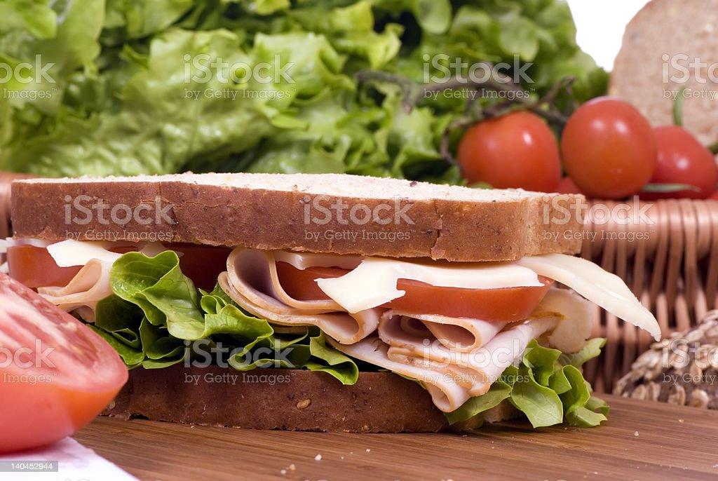 Deli Sandwich 3 royalty-free stock photo