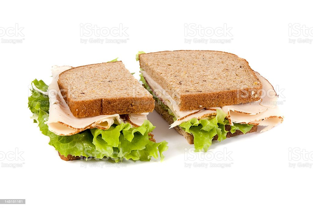 Deli Sandwich royalty-free stock photo