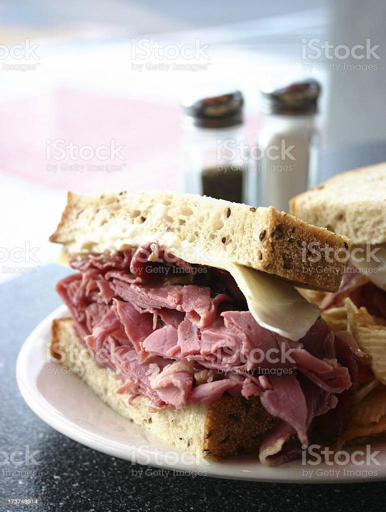 Deli Sandwich stock photo